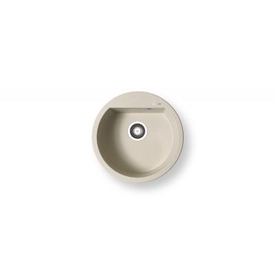 Гранитна мивка ALAZIA (∅51) 1B - PYRAMIS - Цена: 294.90 лв.
