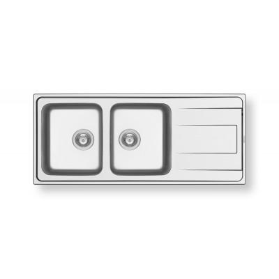 Мивка ALEA 116X50 2B 1D - PYRAMIS - Цена: 349.80 лв.