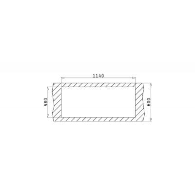 Мивка ATHENA (116x50) 2B 1D - PYRAMIS - Цена: 231.00 лв.