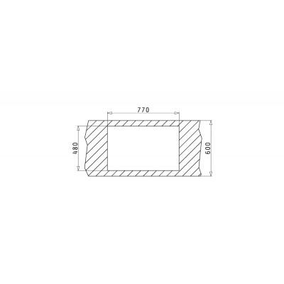 Мивка ATHENA (79x50) 2B - PYRAMIS - Цена: 208.80 лв.