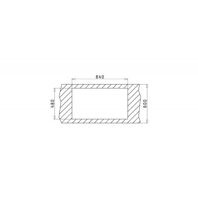 Мивка DORIAN (86x50) 1B 1D - PYRAMIS - Цена: 249.00 лв.