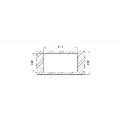 Мивка DORIAN 86x50 2B - PYRAMIS - Цена: 394.80 лв.