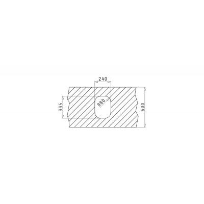 Мивка IRIS (24x33) UM - PYRAMIS - Цена: 94.80 лв.