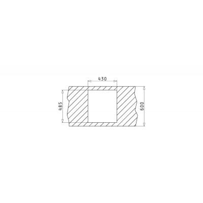 Мивка ISTROS (40x40) 1B - PYRAMIS - Цена: 648.90 лв.