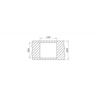 Мивка ISTROS (50x40) 1B - PYRAMIS - Цена: 690.90 лв.