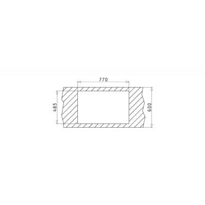 Мивка ISTROS (74x40) 1B - PYRAMIS - Цена: 775.80 лв.