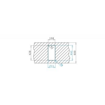 Мивка LUME (17x40) 1B - PYRAMIS - Цена: 204.90 лв.