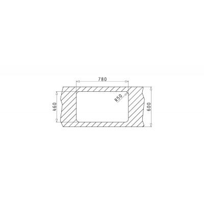Мивка SPACE MINI (80x48) 1B 1D - PYRAMIS - Цена: 258.90 лв.