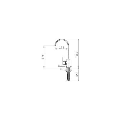 Кухненски смесител ALTISSIMO - PYRAMIS - Цена: 177.00 лв.