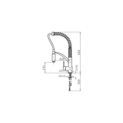 Кухненски смесител CRESENTO - PYRAMIS - Цена: 586.80 лв.