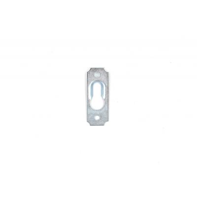 Огледална пластина с 1 отвор А-661-1 /релефна/ - Цена: 0.12 лв.