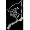 Окачвач за пано Ø35, метален - Цена: 1.20 лв.