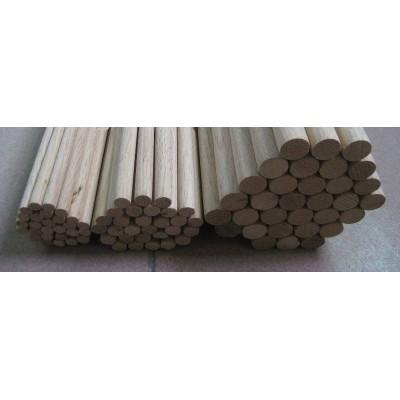 Дървени дибли на пръчка - 1 метър - Цена: 0.60 лв.