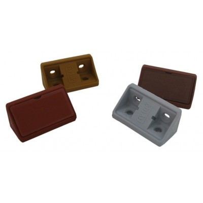 Пластмасови ъглови сглобки за мебели - Цена: 0.06 лв.