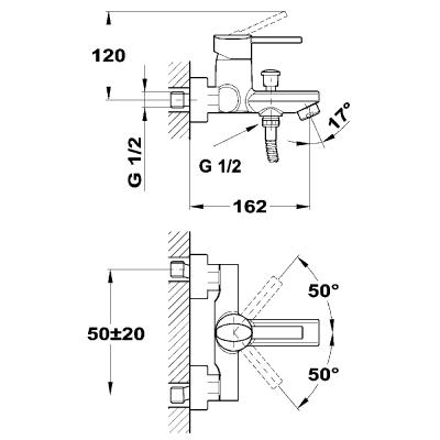 Комплект Ares за вана / душ - TEKA - Цена: 192.00 лв.