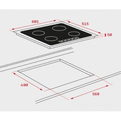 Стъклокерамичен индукционен плот iKNOB IT 6350 - ТЕКА - Цена: 1,297.80 лв.