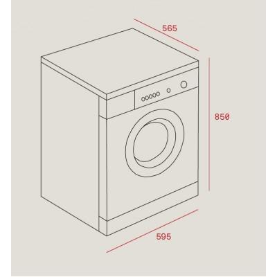 Свободностояща перална машина SPA TKD 1280 - TEKA - Цена: 984.90 лв.