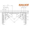 Водачи за чекмеждета SMOVE с плавно затваряне и частично изтегляне - SALICE ITALY - Цена: 19.20 лв.