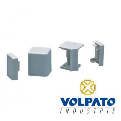 Комплект ъгли и тапи за алуминиев водобран 26х16 - VOLPATO ITALY - Цена: 1.50 лв.