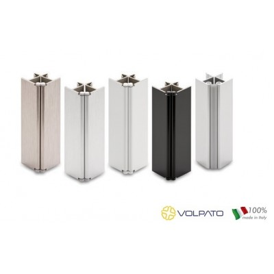 Метален променлив ъгъл за цокъл, H = 100 мм - VOLPATO ITALY - Цена: 1.80 лв.