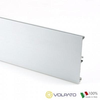 Метален цокъл гладък, L= 4M, H = 150мм - VOLPATO ITALY - Цена: 72.00 лв.