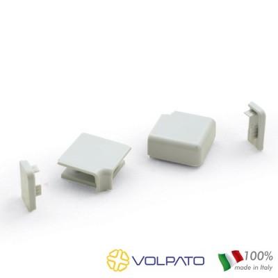 Комплект ъгли и тапи за водобран нисък - VOLPATO ITALY - Цена: 1.50 лв.