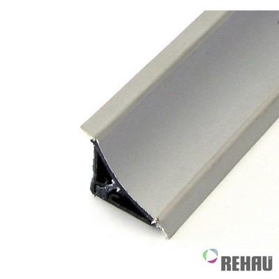 Алуминиева водозащитна лайсна вдлъбната - REHAU 116 - Цена: 16.20 лв.