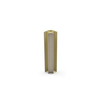 ПВЦ ъгъл за пвц цокъл с ал.покритие /90 градуса/ - инокс - Цена: 0.84 лв.