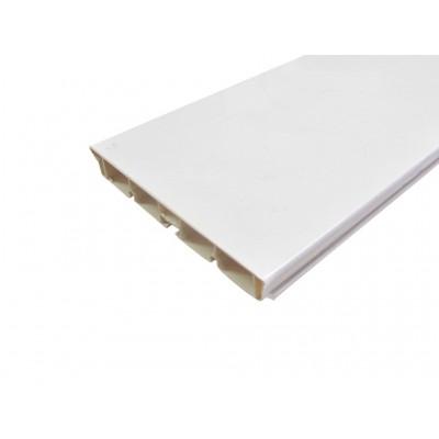ПВЦ цокъл - бял гланц - Цена: 22.08 лв.