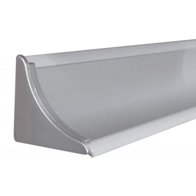 Тапа за кухненски водобран-алуминиев вдлъбнат - Цена: 0.30 лв.